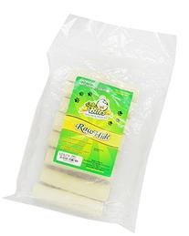 Mr Bites 5-Inch Rawhide Filled Roll for Dogs, Natural, 8-