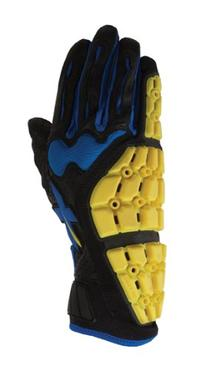 Xprotex Women's Raykr Black/New Blue Batting Glove, Left, X-