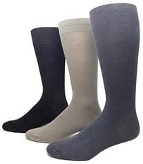 Men's Rayon from Bamboo Plain Dress Socks