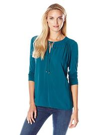 Splendid Women's Rayon Voile Shirting, Pine Green, Large