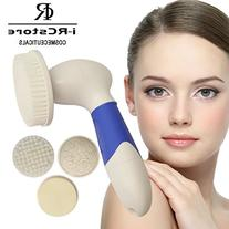 RC 4 in 1 Facial Cleansing Brush Kit / 8 Variable Speeds