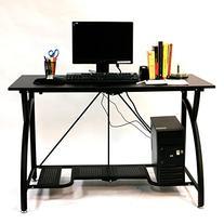 Origami Foldable Computer Desk, Black