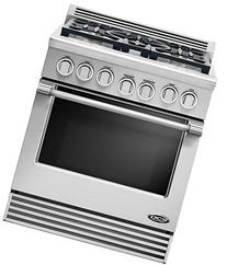 "DCS RDV305N Professional 30"" Stainless Steel Dual Fuel Slide"