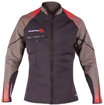 SUPreme Men's Reach 1.5mm Neoprene Jacket, Gray/Black, 3X-