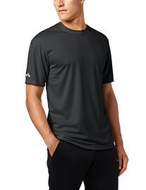 Asics Men's Ready-Set Short Sleeve Top, Black, XX-Large