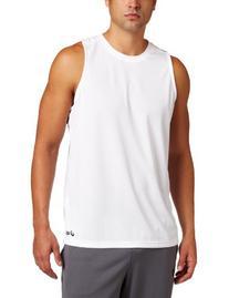 ASICS Men's Ready Set Singlet,White,XX-Small