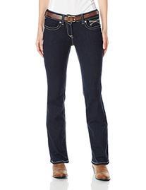 Ariat Women's R.E.A.L. Riding Mid Rise Boot Cut Jean,