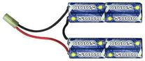 Intellect Rechargeable Airsoft Battery: Small Plug/Nunchuck