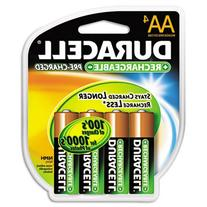 Duracell - Rechargeable NiMH Batteries with Duralock Power