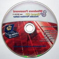 Recovery Boot Password Reset CD - Works with Windows 7 / XP