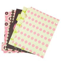 Wilson Jones Recycled Bliss Dividers, 5-Tab, Assorted