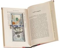 BookRooks Recycled Hollow Book Cash Box with Magnetic