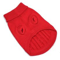 Red Cute Pet Puppy Cat Dog Warm Jumper Sweater Knitwear Coat