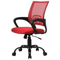 Red Ergonomic Mesh Computer Office Desk Midback Task Chair w