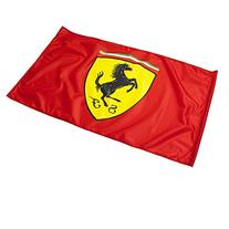 Ferrari Red Fan Flag with NO Pole Sporting the Scuderia