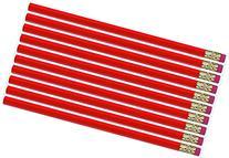 Red Hexagon #2 Pencil, Eraser. 36 Pack. Express Pencils TM