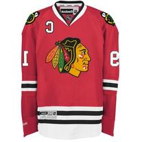 Men's Red Hockey  Premier Jersey-Toews - XL