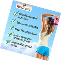 Red Leaf Pre-Workout Energizer - Beta-Alanine, BCAA's,