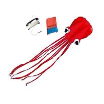 Mayco Bell Red Octopus Portable Kite Nylon & Polyester