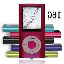 Tomameri Red Color Portable MP4 Player MP3 Player Video