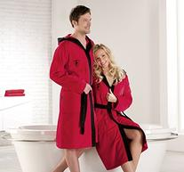 Ferrari Red Shield Bath Robe
