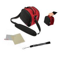 Red Slim Holster Camera Bag Carrying Case will easily hold