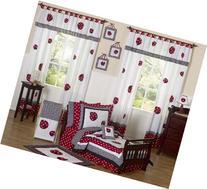 Sweet Jojo Designs 5-Piece Red and White Polka Dot Ladybug