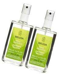 Weleda Refreshing Non-Aerosol Deodorant Spray, Citrus - 3.4