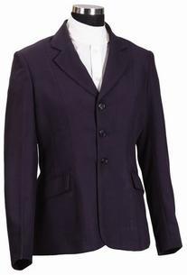 TuffRider Women's Regular Starter Show Coat, Navy, 4
