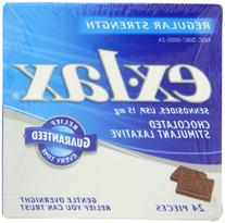 Ex-lax  Regular Strength Chocolated, 24-Count Boxes