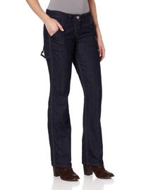 Dickies Women's Relaxed Fit Denim Carpenter Pant, Indigo