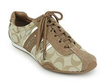 Coach Remonna Women US 9 Tan Sneakers