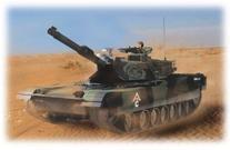 Hobby Engine Remote Control M1A1 Abrams Battle Tank