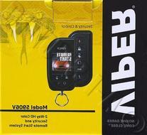 Viper 5906V Color Remote Start & Security