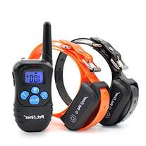 PET998DBB2 100% Waterproof Dog Shock Collar with Remote Dog