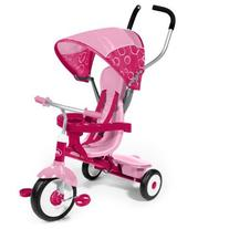 Removable Wrap Around Tray For Safety -  4-in-1 Trike, Pink