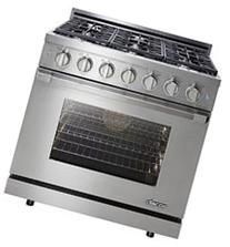 "Dacor Renaissance 36"" Stainless Steel Freestanding Liquid"