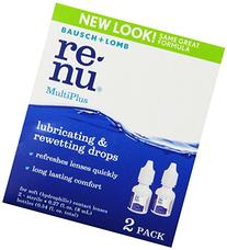Bausch & Lomb ReNu MultiPlus Lubricating & Rewetting Drops,
