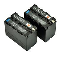 DSTE® 2x Replacement Li-ion NP-F970 Battery for Sony DCM-M1