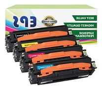 EPS 4PK Replacement Toner Set for Samsung 504 CLP-415NW CLX-