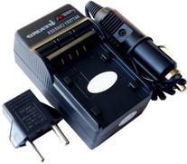 Replacement Wall + Car Battery Charger Kit Panasonic CGA-