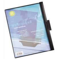 Cardinal ReportPro Covers with SlideGrip Clips, 30-Sheet