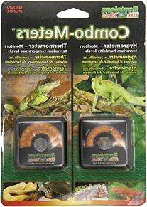 Reptil Higrómetro Humedad y Temperatura Medidores de