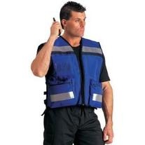 Rothco Rescue Safety Vest, Blue