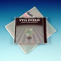 Resealable Single Jewel Case Outer Sleeve