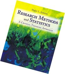 Research Methods and Statistics: A Critical Thinking