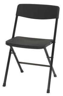 Cosco Resin 4-Pack Folding Chair with Molded Seat and Back,