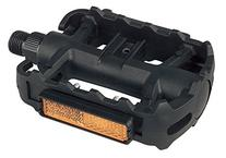 Diamondback Resin 9/16-Inch Spindle ATB Pedals, Black