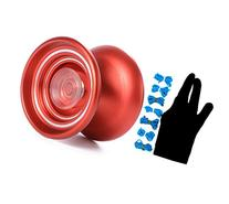 Responsive Aluminum Metal MAGICYOYO K7 Red Yo-Yo for
