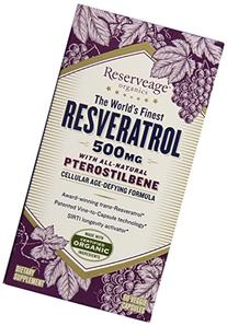 Resveratrol with All-Natural 500 mg 60 Veg Caps
